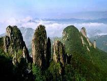 浦江仙华山风景区