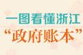 """一图看懂浙江""""政府账本"""""""