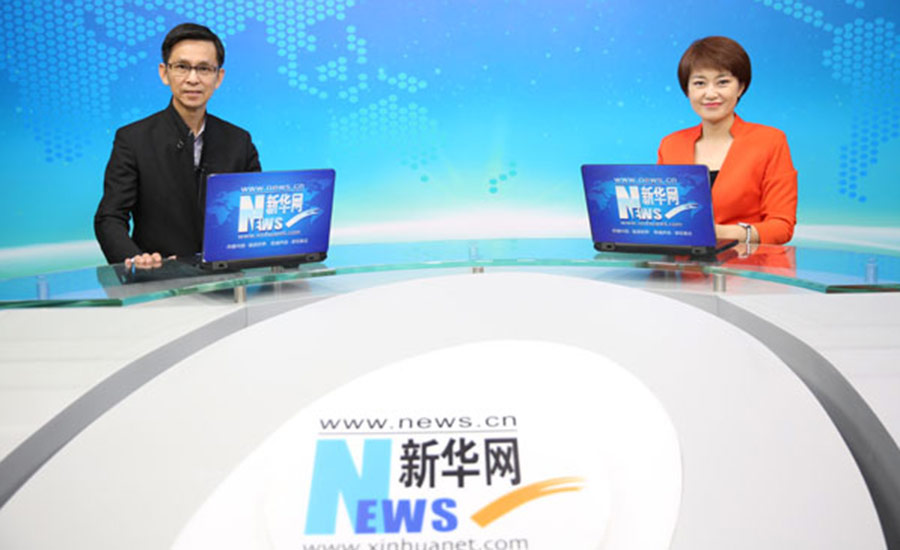 中国美术家协会副主席、著名工笔画画家何家英做客新华访谈